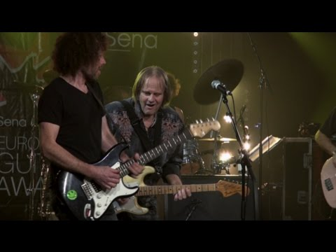 Pre show concert  Sena European Guitar Award with Walter Trout Part 1