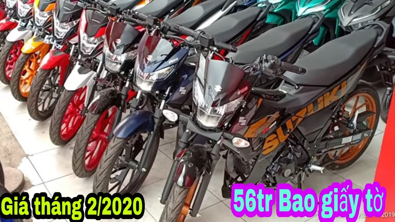Giá xe Suzuki Raider 150 mới nhất tháng 2/2020   Giá Giảm Kịch Sàn / Sáu Vlogs