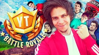 Video de TORNEO PRESENCIAL 100 YOUTUBERS #YTBattleRoyale - Fortnite - elrubiusOMG