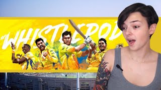 Official CSK #WhistlePodu Video 2018 | REACTION!