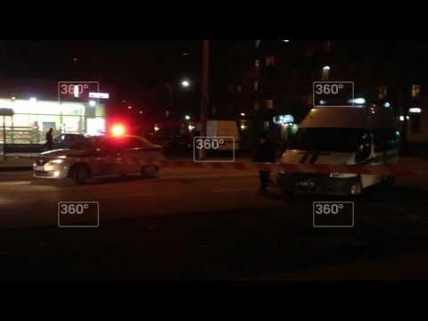 Два автобуса поменяли маршрут движения из-за черного пакета на остановке в Москве