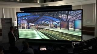 smart VR-Wall – die High-Tech-Powerwall für realitätsgetreue 3D-Stereo und VR/AR-Simulation