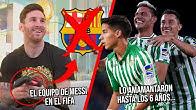 El equipo que usa Messi en FIFA | Crack jugaría hasta los 40 porque su mamá lo amamantó hasta los 6