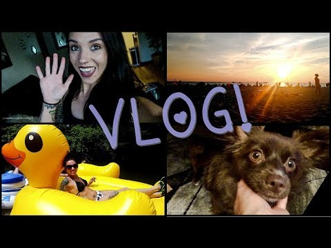 VLOG: July 4th-9th | 4th of July, Booty Max, New Makeup, & Tubing!