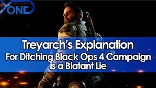 Treyarch's Explanation for Ditching Black Ops 4 Single Player Campaign is a Blatant Lie