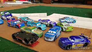 Big One On The Front Straightaway | Cars StopMotion