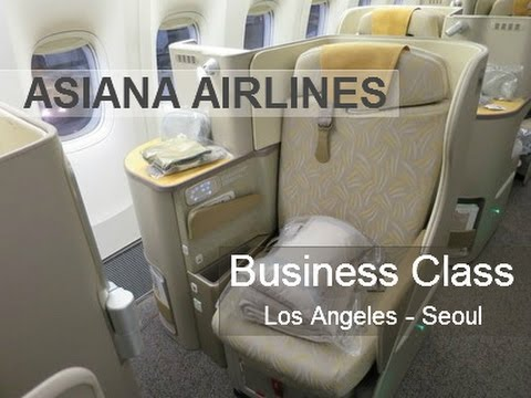 Asiana Airlines | Business Class | Los Angeles - Seoul