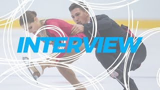 Interview Anastasia Mishina Aleksandr Galliamov RUS WorldJFigure 2019