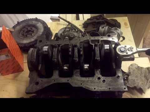 Капитальный ремонт двигателя рено Логан 1,6 Часть 2