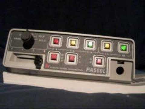Federal Signal Unitrol Touchmaster Siren Doovi
