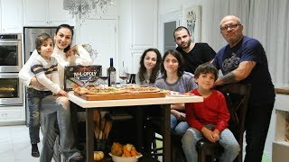 Пицца на День Рождения Шефа Спасибо за Поздравления Рецепт от Эгине Heghineh Cooking Show