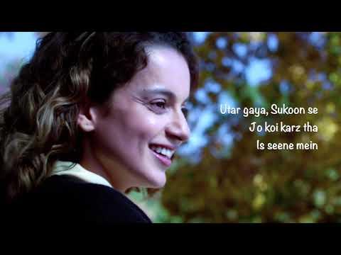 Pinjra Tod Ke   Simran Lyric Video