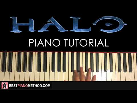HOW TO PLAY - HALO THEME SONG (Piano Tutorial Lesson)