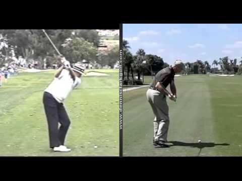 Unorthodox swings by Dennis Clark, PGA