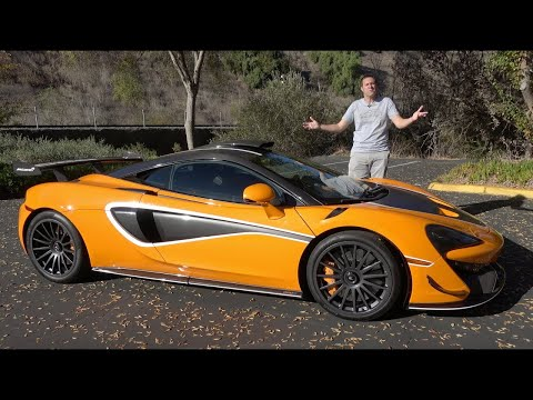 McLaren 620R - это самая новая безумная дорожная гоночная машина от McLaren