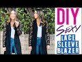 DIY: Custom LACE Sleeve Blazer (How to Change Out ANY Sleeve!)