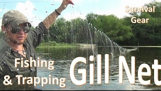 survival gill net fishing b o b trapping gear