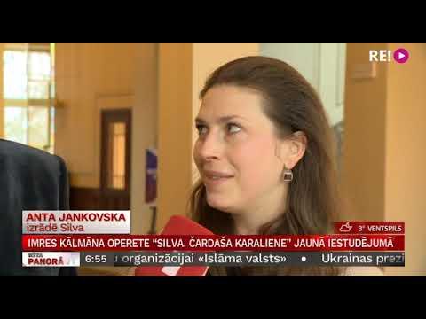 """Imres Kālmāna operete """"Silva. Čardaša karaliene"""" jaunā iestudējumā"""