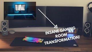 Insane Gaming Room Transformation (timelapse)