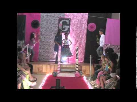 Gavyn Gonzales fashion show birthday party 2012