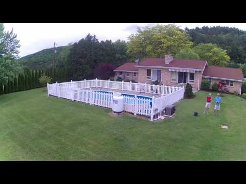 Drone flight - Berwick PA - May 28, 2017 ( Cook, Roger, Max & Amy)