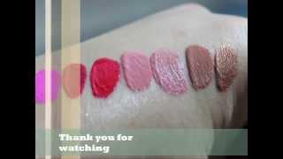 Sleek Wonderlust LipGloss Swatches Thumbnail