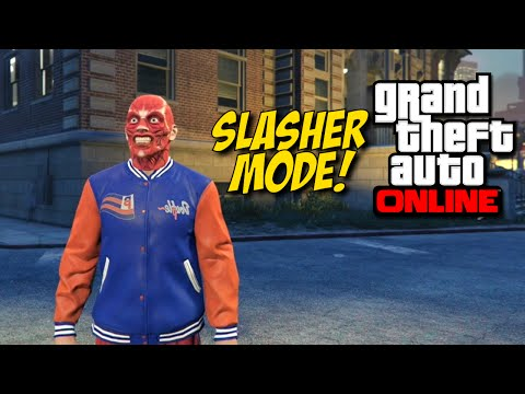 [F#%KING HILARIOUS!] SLASHER MODE! [GTA: ONLINE]