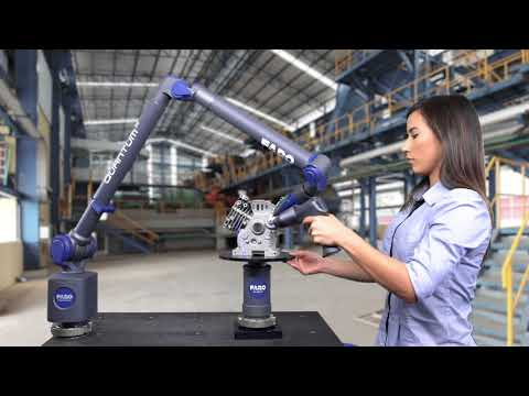 FARO 8-Axis Quantum ScanArm: Faster And Easier Scanning With FARO 8-Axis