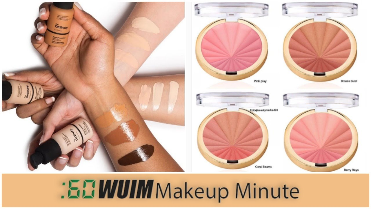 Color harmony online - Makeup Minute The Ordinary Foundation Back In Stock New Milani Color Harmony Blushes