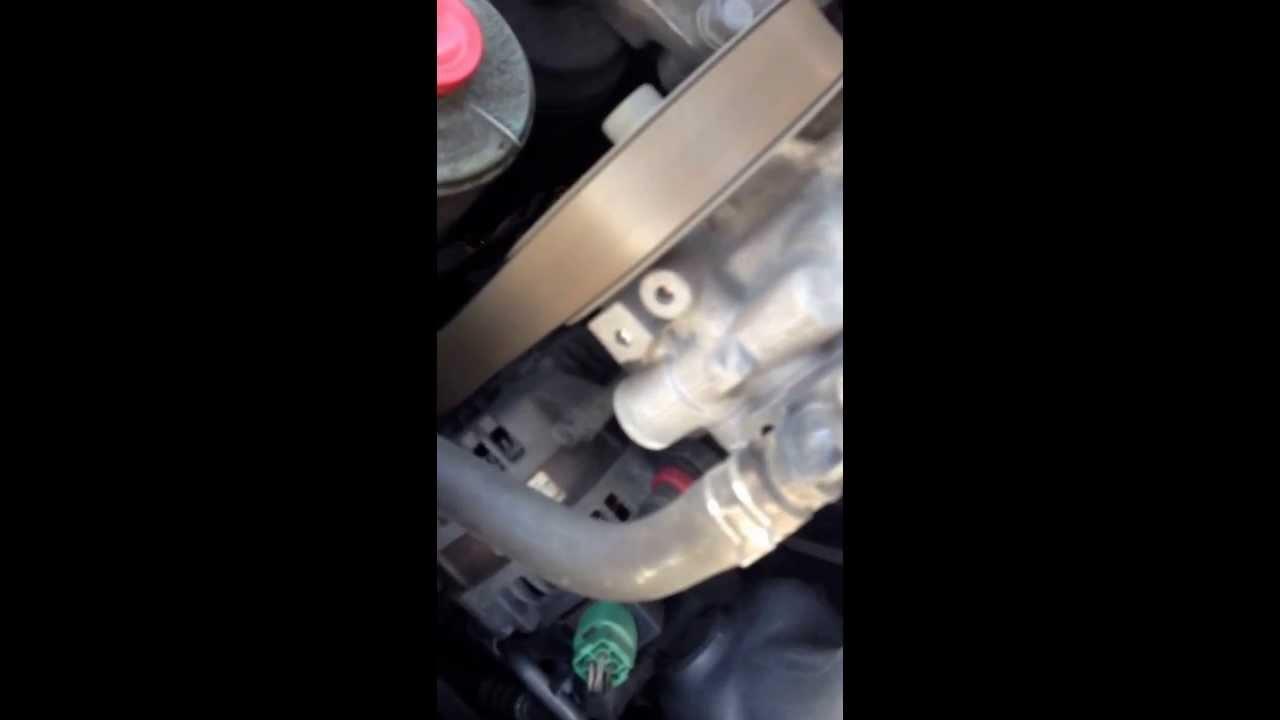 Honda Accord cl9 шум помпы