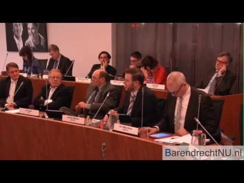 [JF] Gemeenteraadsvergadering Centrumaanpak Barendrecht (17-02-2015)