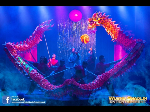 Dragon Warriors - Live Chinese Cultural Show - Wushu Shaolin Entertainment