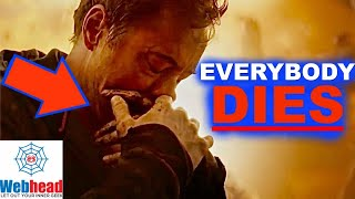 All of the Avengers Will DIE in Infinity War Theory with PROOF!!! |  Webhead