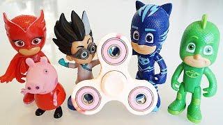 I Pj Masks Super Pigiamini e il Fidget Spinner impazzito di Peppa Pig [Storia]