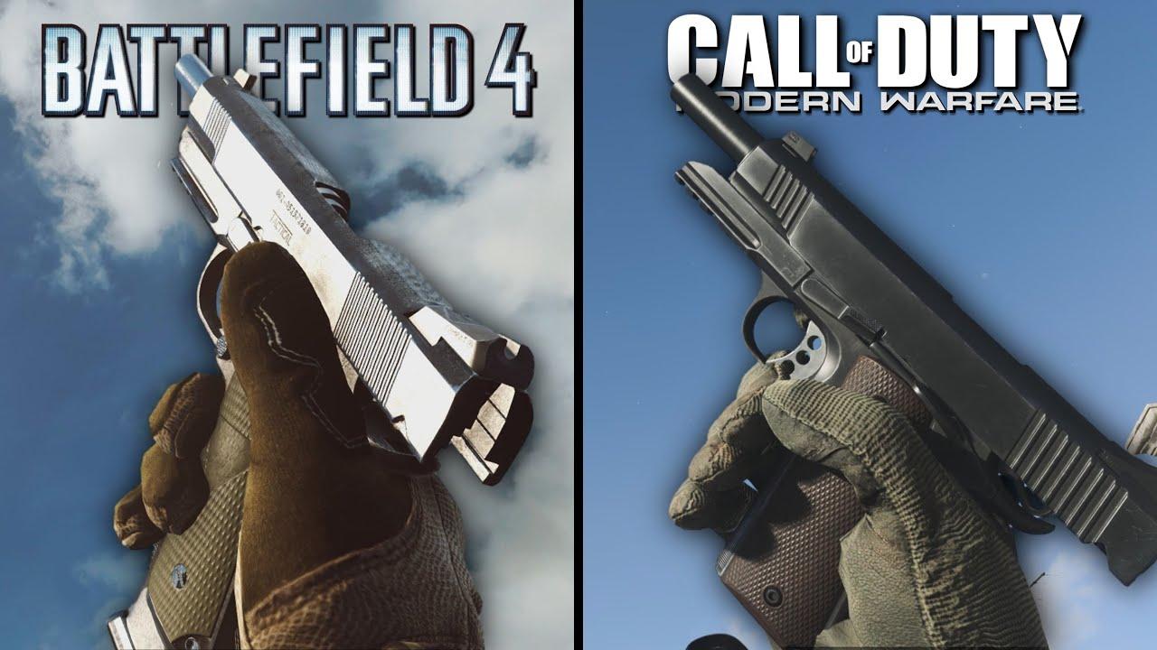 Call of Duty: Modern Warfare vs Battlefield 4 | Direct Comparison