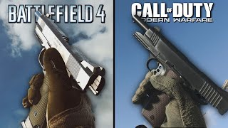 Call of Duty: Modern Warfare vs Battlefield 4 | Direct Comparison