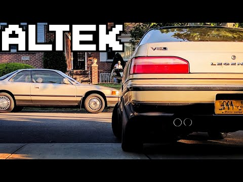 1994 Acura Legend Start Up And Full Vehicle Tour Youtube