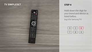universal remote control urc 7980 smart control how to setup by simpleset