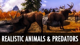 Skyrim Mod: Realistic Animals and Predators