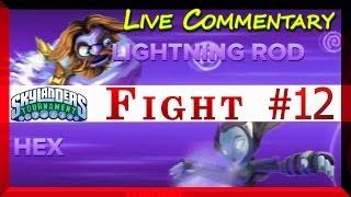 Skylanders Swap Force Battle Mode 3rd Tournament Hex Versus Lightning Rod Fight # 12