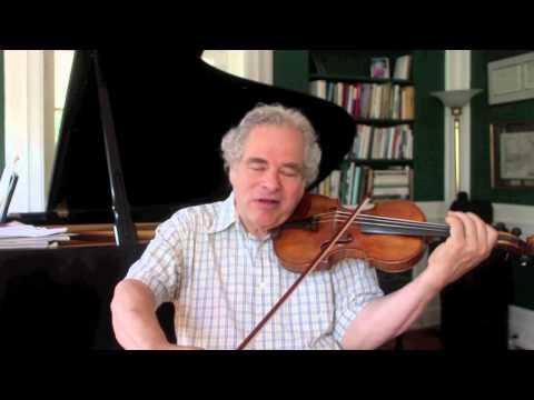 Itzhak talks about the Tchaikovsky Violin Concerto