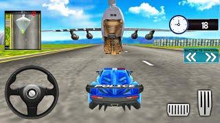 Police Car Transport Simulator 2021-Cargo Plane Car Transporter-Android 게임 플레이