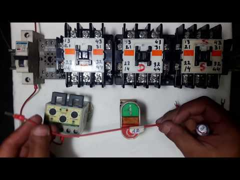 Star Delta timer OFF motor control circuit With Full Practical