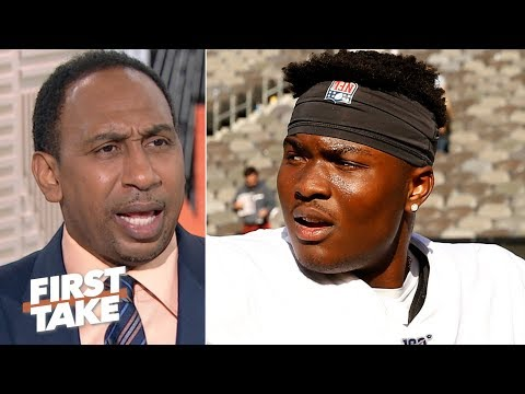 Stephen A. rips the Redskins for playing Dwayne Haskins against the Giants | First Take