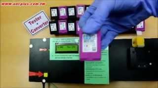 UniPlus Ink Cartridge Circuit Tester - HP 122, 61, 301, 650, 678, 802, 704