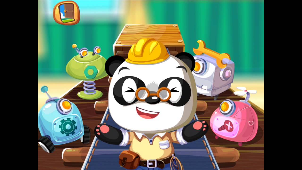 Dr  Panda Klusjesman / Handyman - educatieve iPad / Android app