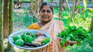 Vegetable Recipe: 4 Mixed Vegetable Cooking by Village Food Life