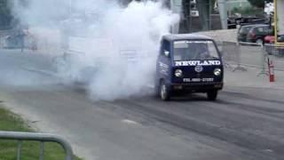 Carpulling s'Gravendeel 2010 No Mercy finale kapot autotrek.