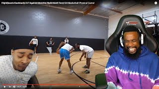 "BRUH IM CRYING LAUGHING! FlightReacts Cashnasty 1v1 Against Meechie ""Bald Head"" Terry! D1 Basketball"