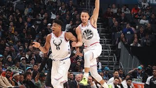 Giannis Antetokoumpo Drops 38 Points At The 2019 All-Star Game